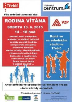 2015_06_13 Rodina vítána - leták Město Třebíč