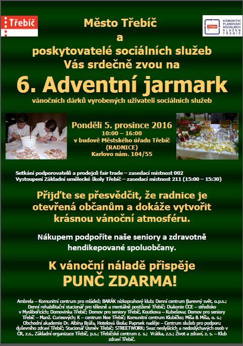 Adventní jarmark @ v budově Městského úřadu | Třebíč | Česká republika