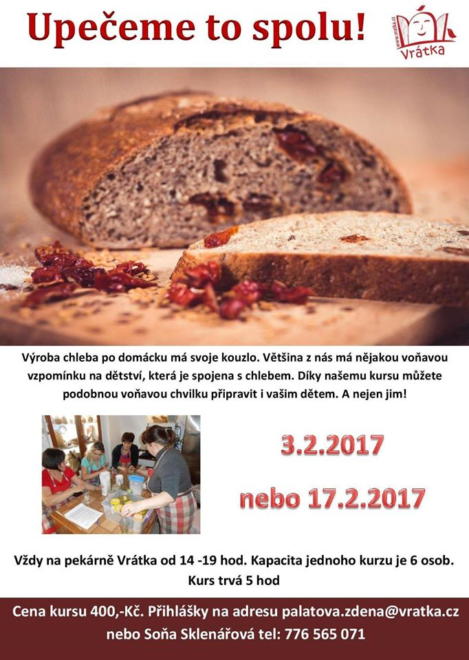 Kurz výroby chleba