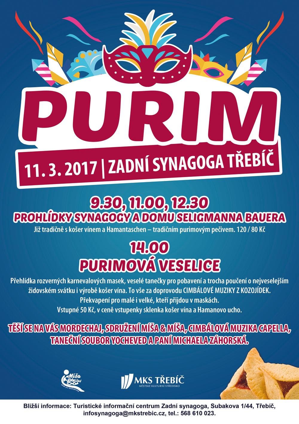 Purim 2017_Třebíč