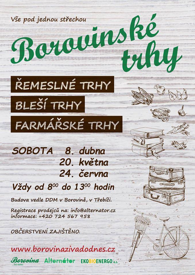 Borovinské trhy @ areál BOPO v Borovině | Třebíč | Česko