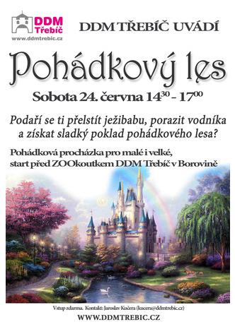 Pohádkový les @ start před ZOO koutkem DDM Třebíč v Borovině | Třebíč | Česko