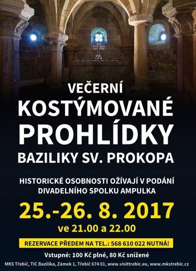 Večerní kostýmované prohlídky baziliky @ bazilika sv. Prokopa | Třebíč | Česko