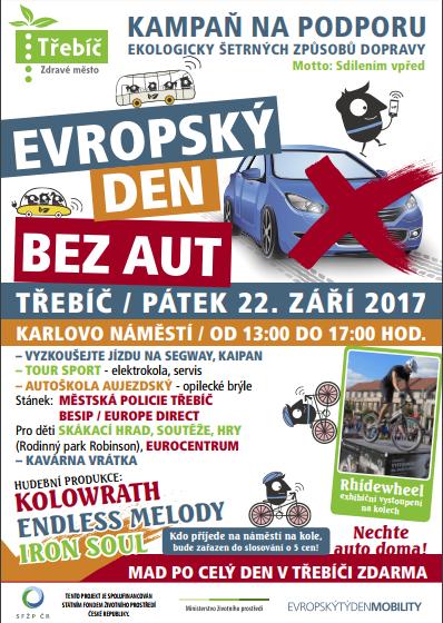 Evropský den bez aut @ Karlovo náměstí