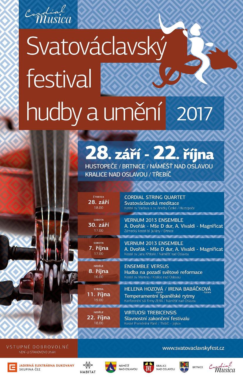 Svatováclavský festival hudby a umění @ kostel Proměnění Páně na Jejkově | Třebíč | Kraj Vysočina | Česko