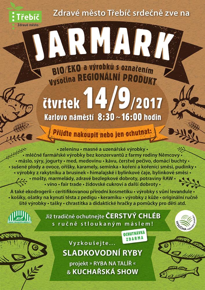 Podzimní biojarmark @ náměstí | Třebíč | Kraj Vysočina | Česko