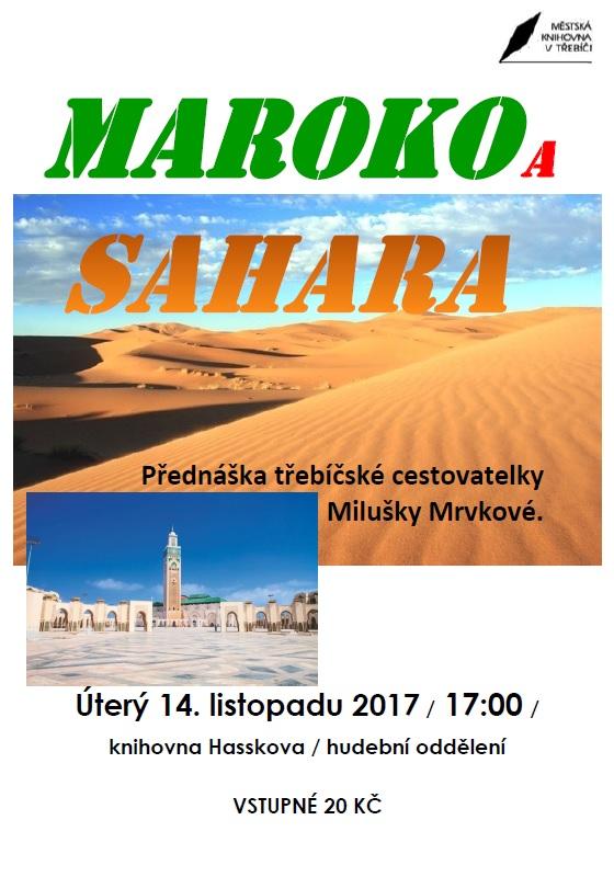 Maroko a Sahara @ Sál hudebního oddělení Městské knihovny Třebíč | Třebíč | Kraj Vysočina | Česko