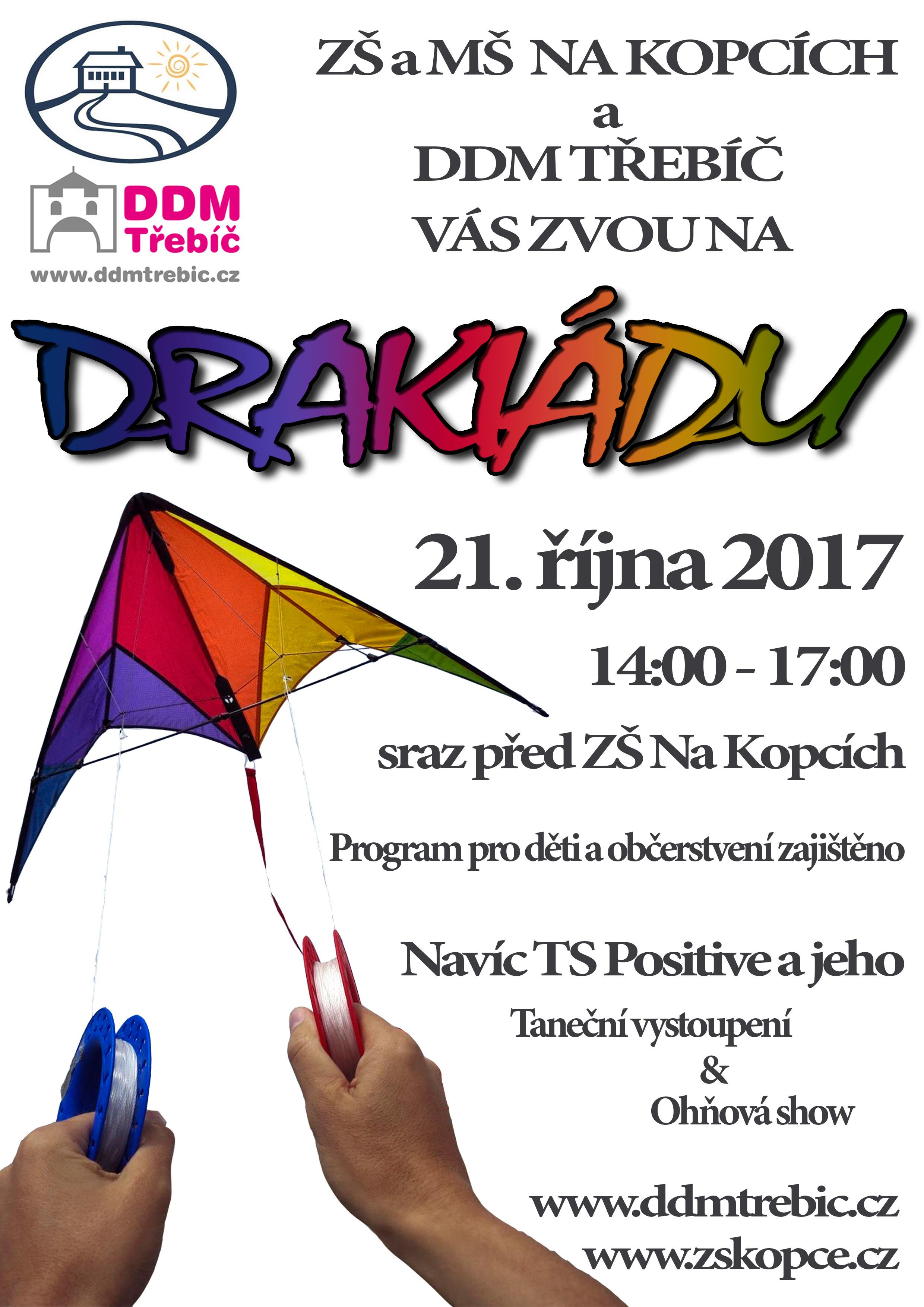 Drakiáda @ ZŠ Na Kopcích | Třebíč | Kraj Vysočina | Česko