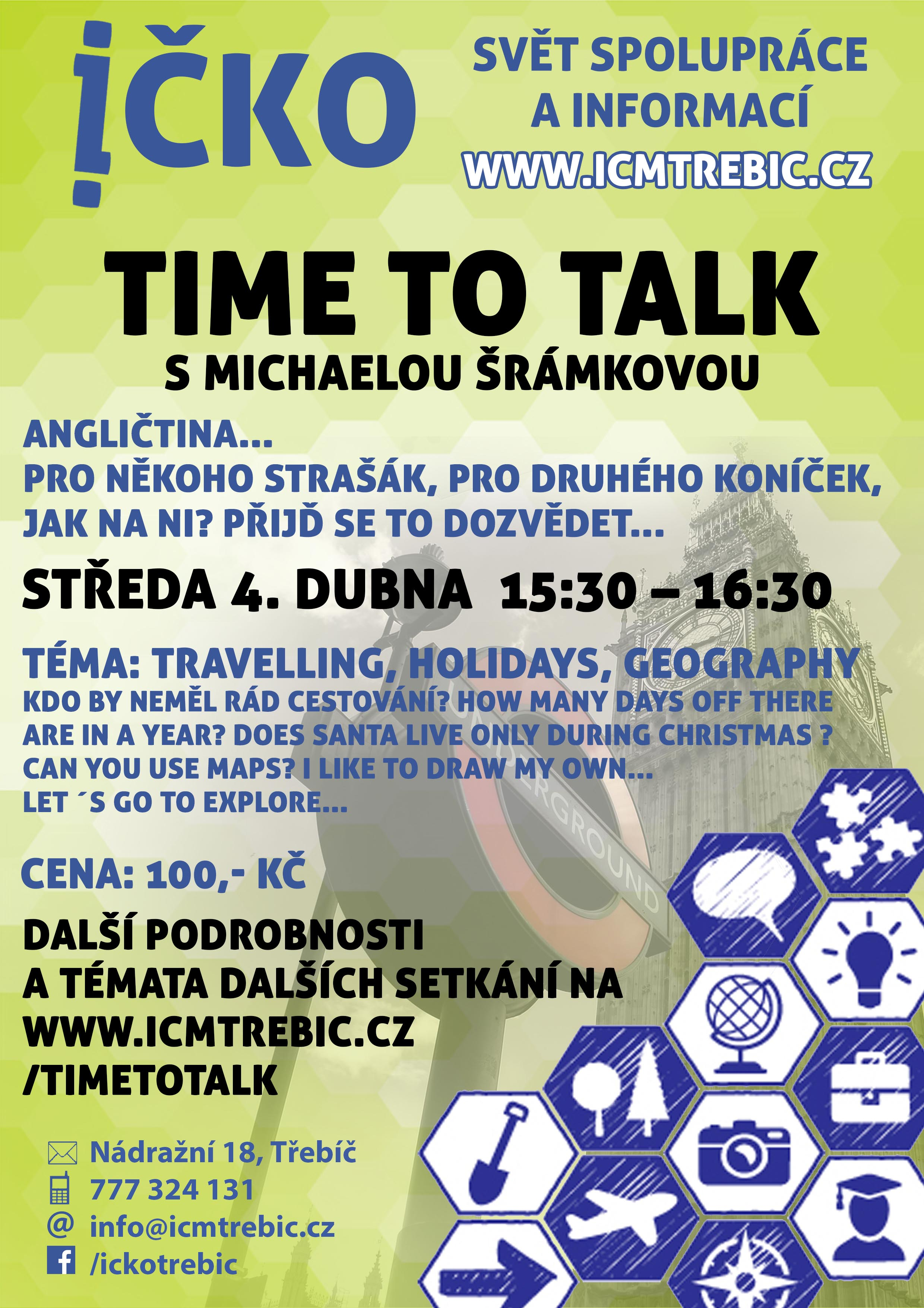 Time to talk (7/10) @ Íčko Třebíč | Třebíč | Kraj Vysočina | Česko