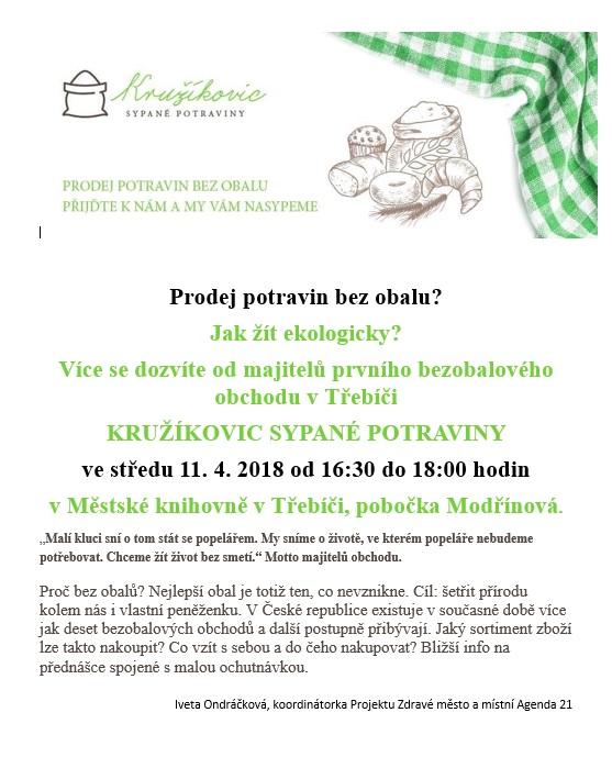 Prodej potravin bez obalu? @ MK - pobočka Modřínová | Třebíč | Kraj Vysočina | Česko