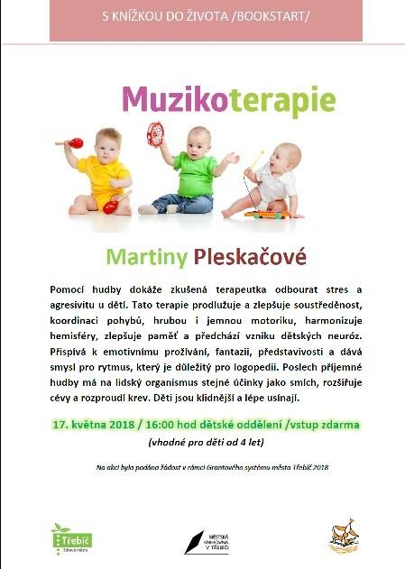 Muzikoterapie pro děti @ Dětské oddělení MK | Třebíč | Kraj Vysočina | Česko