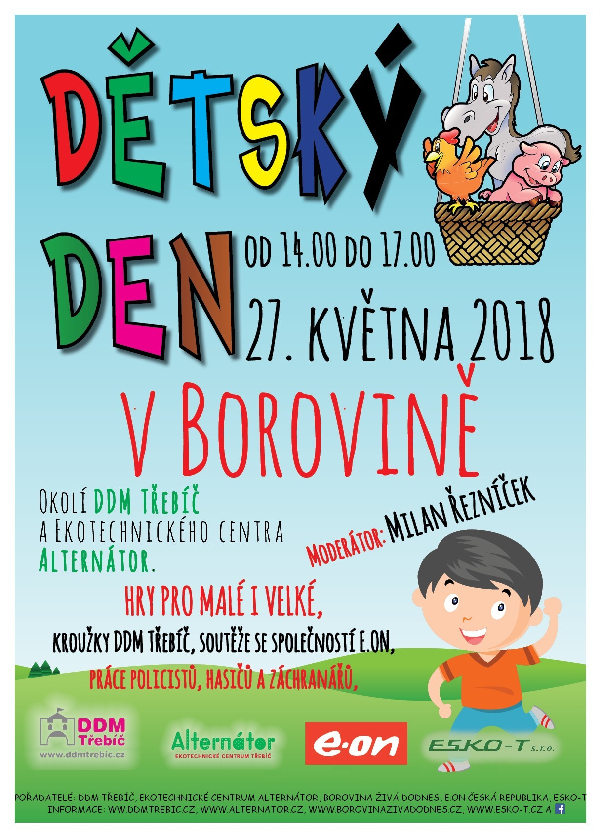 Dětský den v Borovině @ DDM Třebíč | Třebíč | Kraj Vysočina | Česko