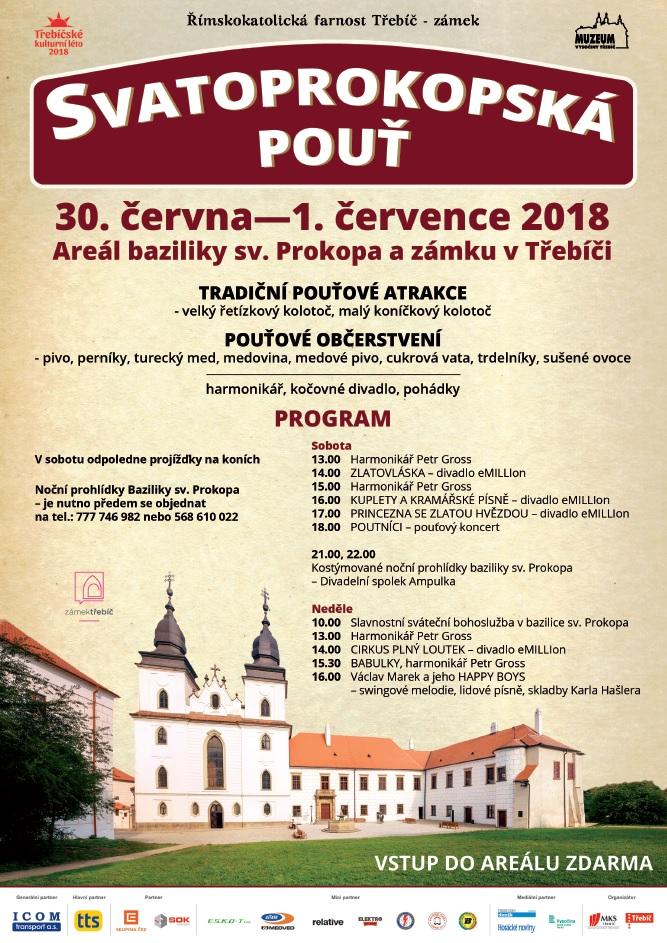 Svatoprokopská pouť @ areál baziliky sv. Prokopa   Třebíč   Kraj Vysočina   Česko