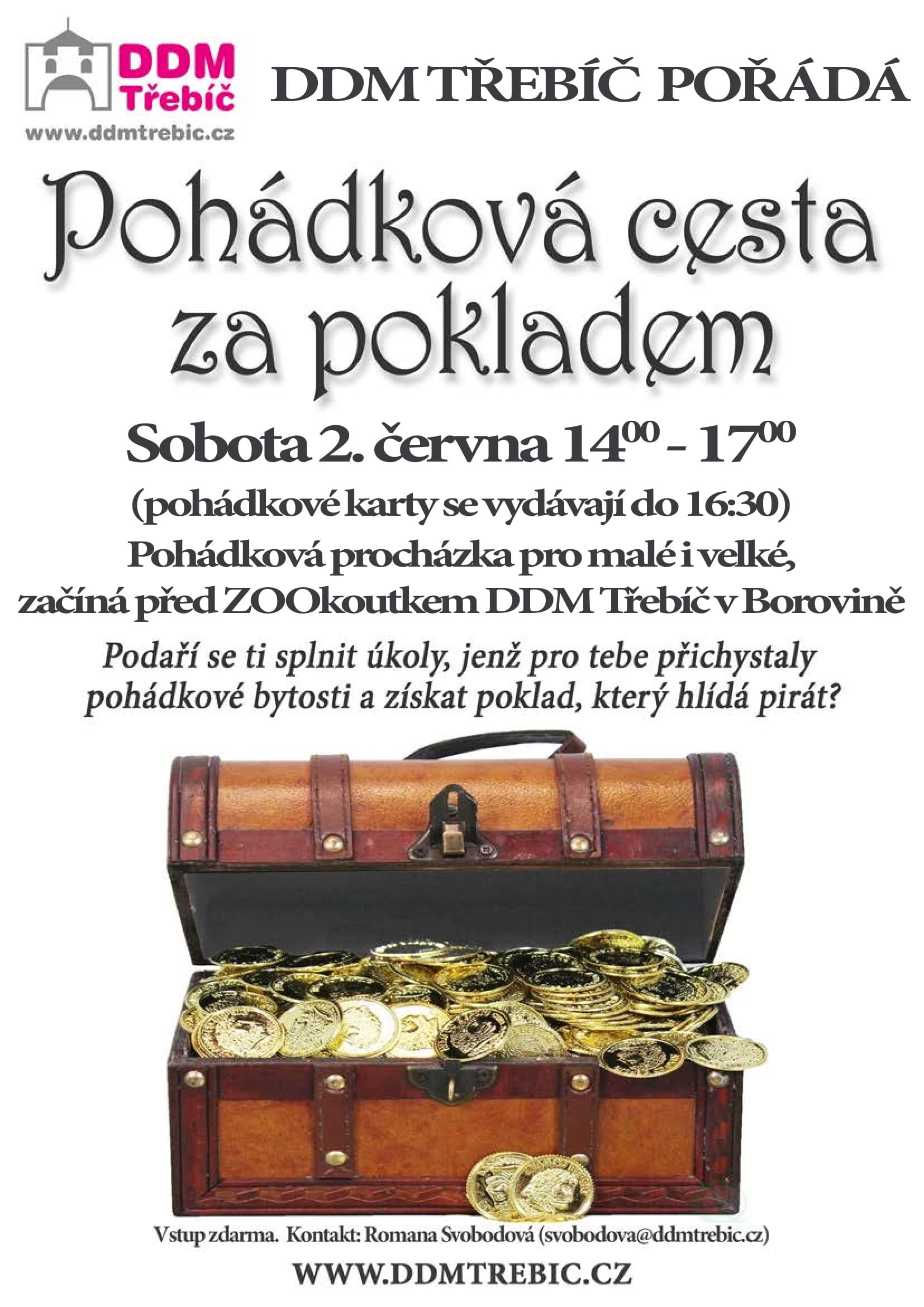 Pohádková cesta za pokladem @ DDM Třebíč | Třebíč | Kraj Vysočina | Česko