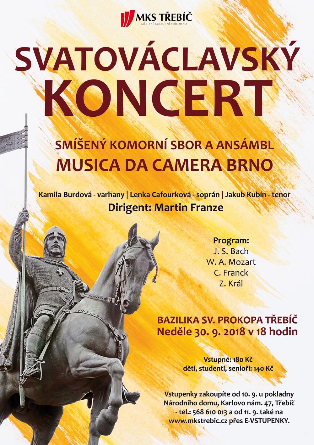 Svatováclavský koncert @ bazilika sv. Prokopa