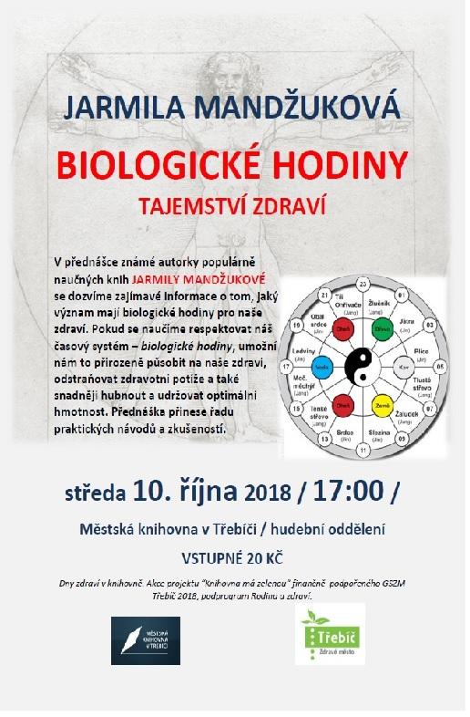Biologické hodiny @ Sál hudebního oddělení MK | Třebíč | Kraj Vysočina | Česko