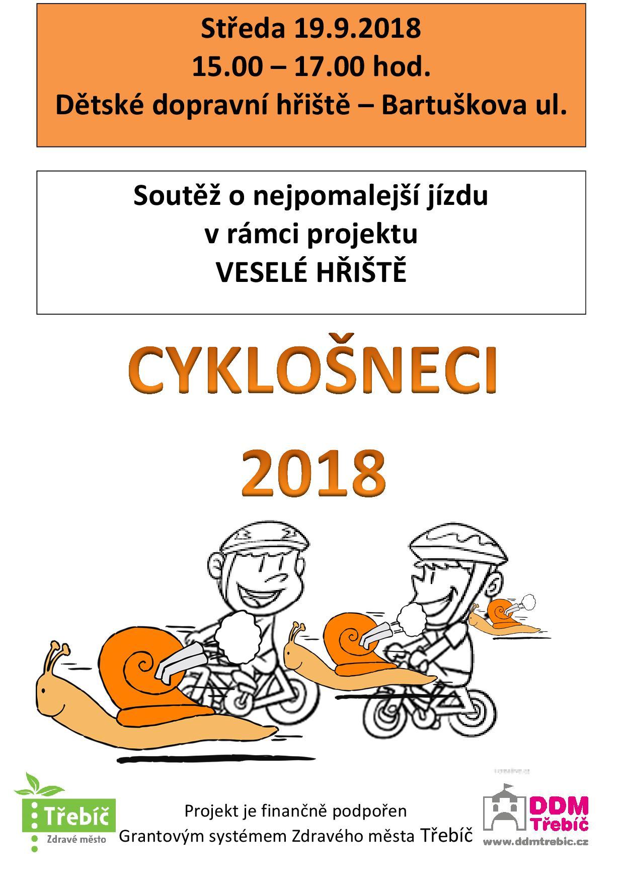 Cyklošneci @ Dopravní hřiště | Třebíč | Kraj Vysočina | Česko