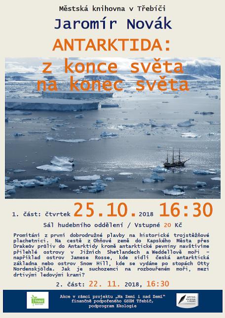 Antarktida 1.část @ Sál hudebního oddělení MK | Třebíč | Kraj Vysočina | Česko