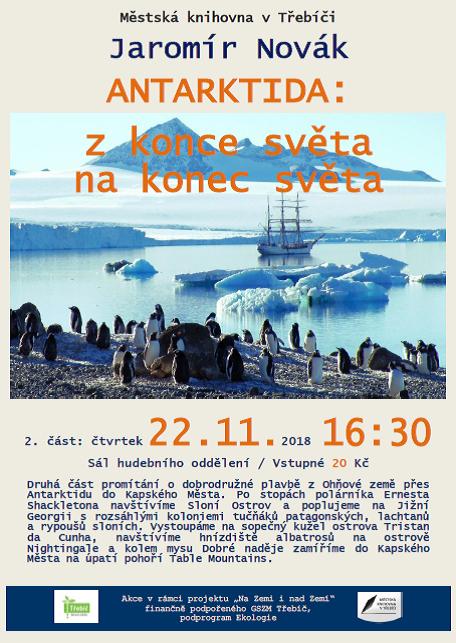 Antarktida 2.část @ Sál hudebního oddělení MK | Třebíč | Kraj Vysočina | Česko