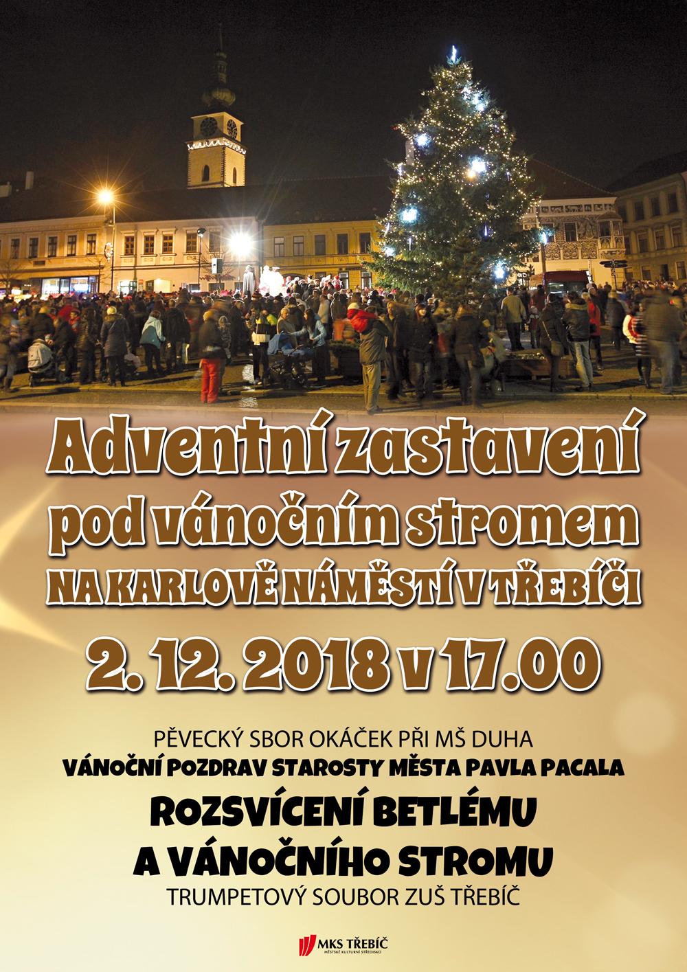Rozsvícení vánočního stromu @ Karlovo náměstí