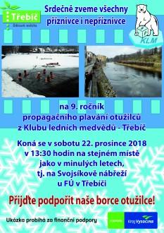 Plavání otužilců @ Svojsíkovo nábřeží