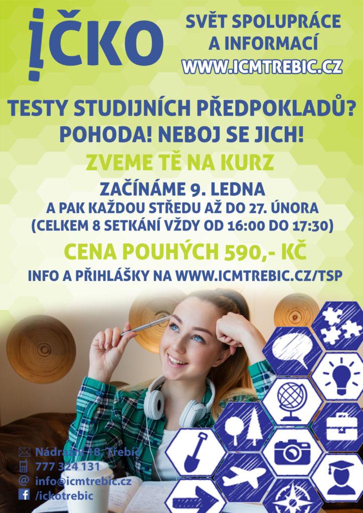Testy studijních předpokladů @ Íčko Třebíč