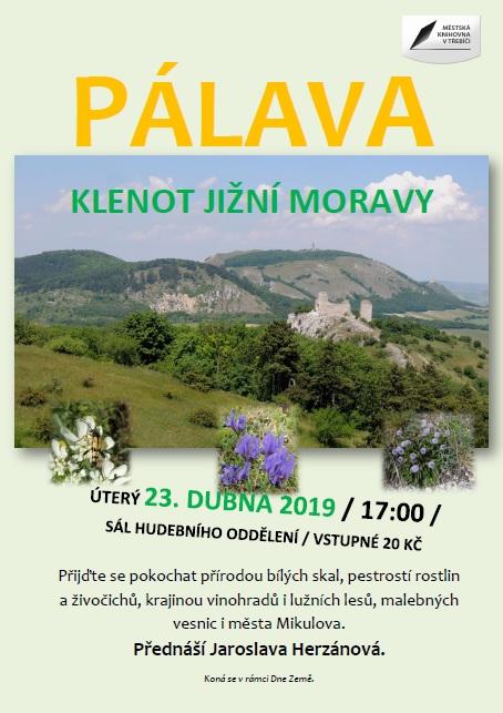 Pálava - klenot jižní Moravy @ sál hudebního oddělení MK