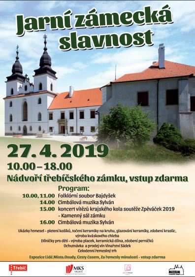 Jarní zámecká slavnost @ Zámek Třebíč
