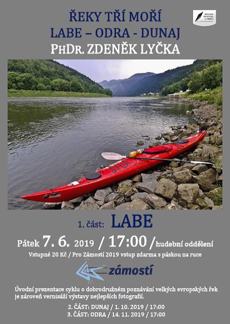 Řeky tří moří Labe - Dunaj - Odra @ Hudební oddělení Městské knihovny