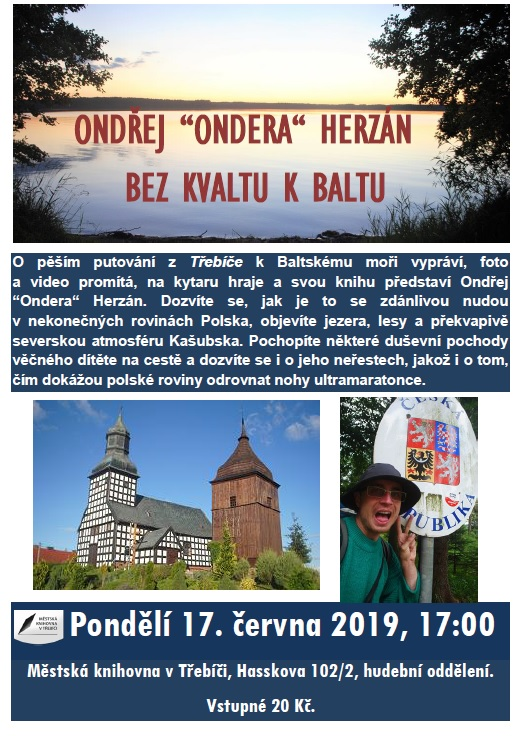 Bez kvaltu k Baltu - Ondřej Ondera Herzán @ Hudební oddělení Městské knihovny