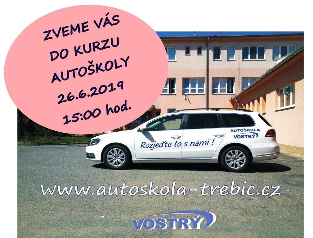 Pozvánka do kurzu autoškoly