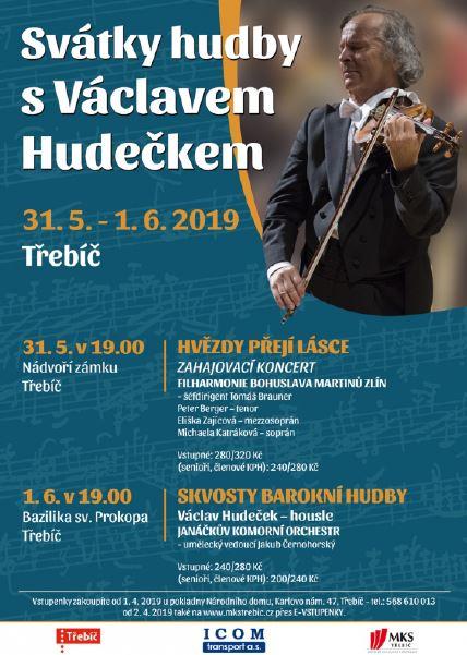 Svátky hudby s Václavem Hudečkem