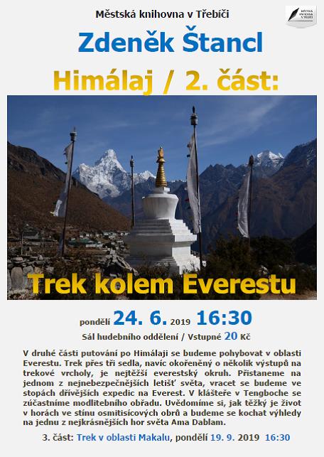 Himaláj 2. část - treky kolem Everestu @ sál hudebního oddělení Městské knihovny