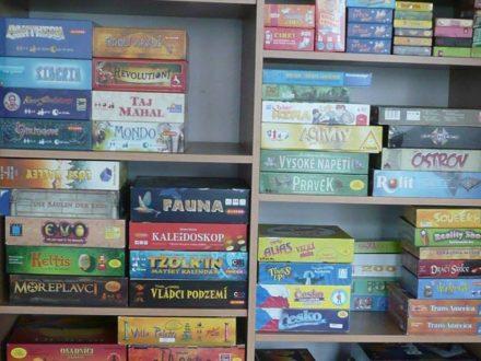 Klub deskových her Mezi domy @ Centrum volného času Hrubínka