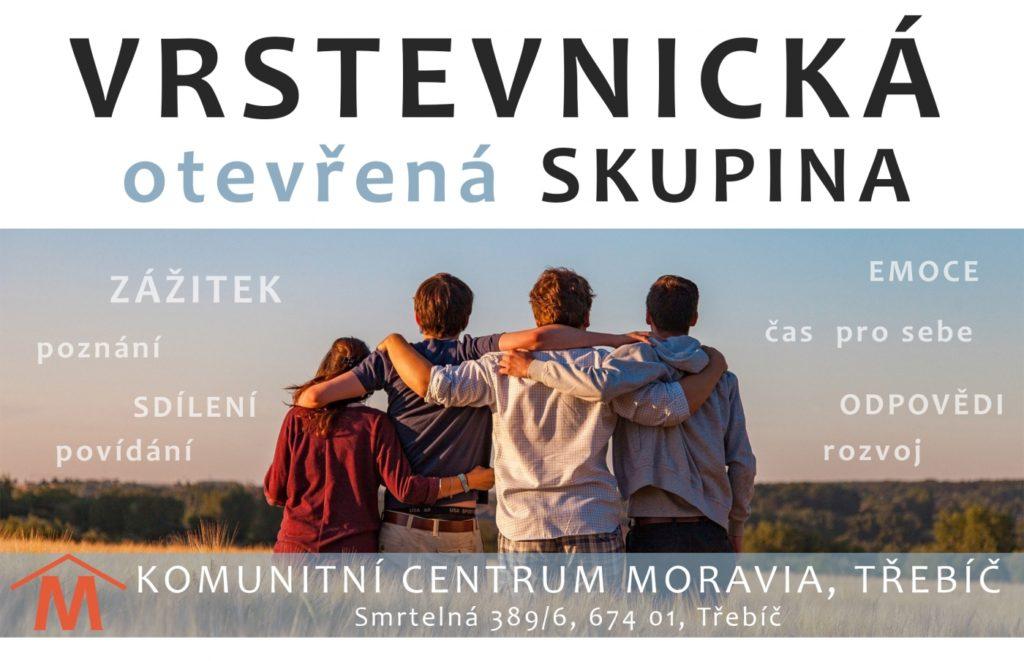 VRSTEVNICKÁ SKUPINA PRO MLADÉ @ KC Moravia - zázemí pro děti