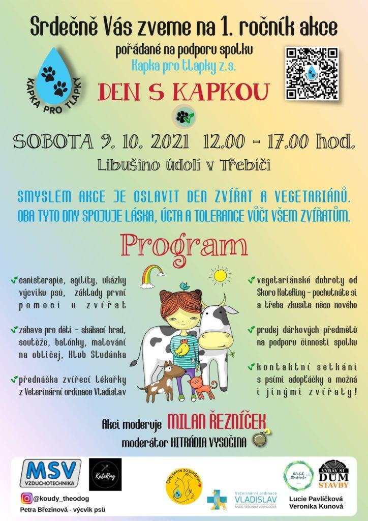 Den s Kapkou @ Libušino údolí v Třebíči
