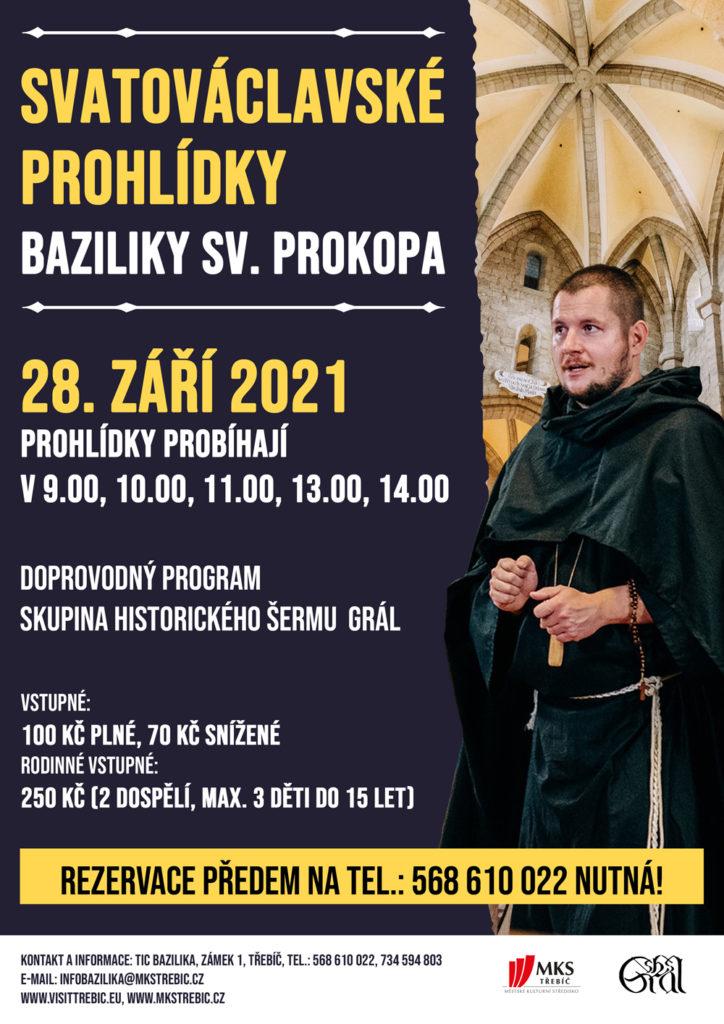 Svatováclavské prohlídky @ Bazilika sv. Prokopa, Muzea a památky